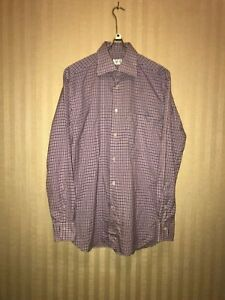 Ermenegildo Zegna Mens Cotton Shirt Camicia Long Sleeve Size 40-15(3/4)
