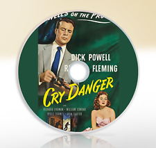 Cry Danger (1951) DVD Mystery Crime Classic Film Noir Movie / Film