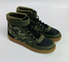 11 NEW 8 6 Old Navy Boy/'s Brown Sueded Doggie High Top Sneakers Size