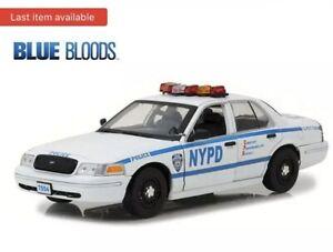 2001 Ford Crown Victoria Blue Bloods Jamie Reagan's Police Interceptor NYPD 1/18