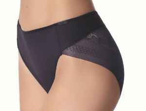 Seamless Black  or Ivory Tai String Briefs Knickers ~Janira Magic Band (1031991)