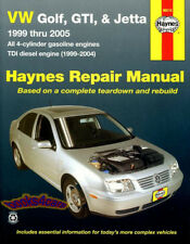 SHOP MANUAL VOLKSWAGEN SERVICE REPAIR JETTA GOLF GTI HAYNES BOOK GUIDE 1999-2005