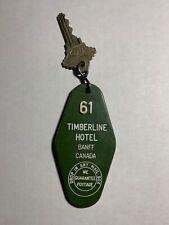 Timberline Hotel Motel Room Key Fob with Key Banff Canada