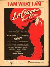 I Am What I Am 1983 La Cage Aux Folles Sheet Music