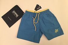New w Tags & Bag Authentic Vilebrequin Moka Swim Trunks in Blue - Men Size M