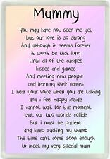 Mummy Poem Love From The Bump Jumbo Magnet Ideal Birthday Mothers Day Gift 916