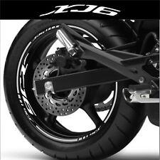LISERETS JANTES MOTO XJ6 STICKERS kit pour 2 jantes 40 couleurs