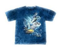 The Mountain Kids Little Find 9 Sea Turtles T-Shirt Blue Youth Tee M-L-XL NWT