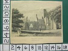 C1836 Antik Aufdruck ~ Calder Abbey