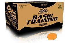 Basic Training Paint Balls Case of 2000 Paintballs Rounds - ORANGE FILL