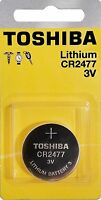 Toshiba CR2477 3V Lithium Batteries (1 Battery) - Tracking Included!