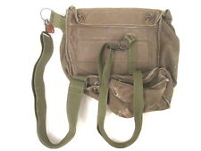 Vietnam US Army/USMC M17 Series (M17A1 M17A2) Canvas Gas Mask Carry Bag w/Straps