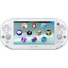 SONY Playstation Vita PSV 2000 WiFi Console Light Blue White CN *VGC*+Warranty!