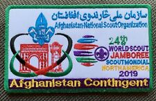 24th World Boy Scout Jamboree 2019 Afghanistan Contingent Patch Badge WSJ