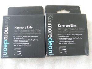 2 Pack Genuine OEM Kenmore Elite 46-9918   Refrigerator Air Filter NEW Free Ship