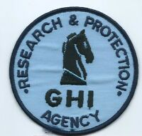 GHI Agency Research & Protection Patch 4 in dia #1494