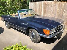 Mercedes Benz 450SL R107 - 1973, RHD Auto, Navy Blue, Excellent running cond.