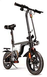12INCH Electric Folding Bike City Commuter E-Bike With 350W Motor~