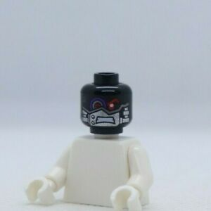HEAD Black Robot Nindroid Mechanical Eye Cryptor Ninjago LEGO® Minifigure Part