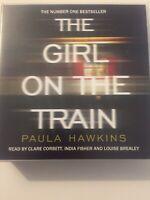 audio book CDS The Girl On The Train Paula Hawkins