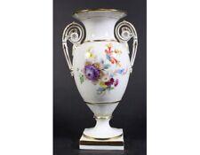 Amphoren Vase Porzellan Blumenbukett Meissen