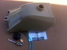 HONDA TRX300 TRX 300 93-2000 PLASTIC GAS FUEL TANK FOURTRAX beige with petcock