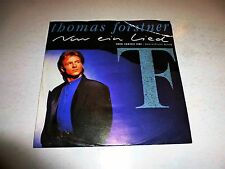 "THOMAS FORSTNER - Nur ein Lied - 1989 German 2-track 7"" Juke Box vinyl single"