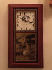"New! Pepsi-Cola & Duck Theme Pendulum Clock 24.5"" Tall by Hanover             o3"