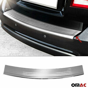 Fits Dodge Journey 2011-2021 Chrome Rear Bumper Guard Trunk Sill Cover S.Steel