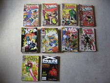 THE UNCANNY X-MEN AND SIMILAR TITLES COMIC LOT -166 COMICS WITH 10 KEY ISSUES