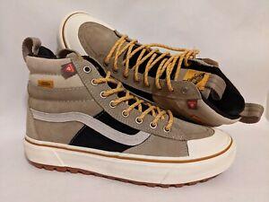 Vans New Sk8-Hi MTE-2 Khaki/Black Men Size USA 9 Skate Shoes