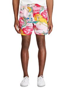 Polo Ralph Lauren Nautical-Print Swim Trunks MSRP $168 Size L # 5C 1822 NEW