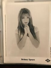 Britney Spears Publicity Photo With Coa