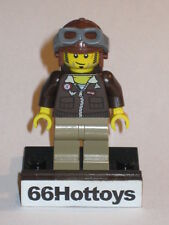 LEGO Pharaoh's Quest Mac McCloud Kepi MiniFigure New