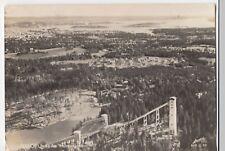 Norway; Oslo, Utsikt Fra Holmenkollen, RP PPC, 1954 PMK Aerial View of Ski Slope