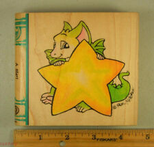Rubber Stamp VIP Visual Image Printery Real Musgrave A Star! Pocket Dragon #3525