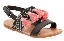 60% OFF! AUTH OLD NAVY PRINTED TASSELED SANDALS SHOES 5 /12-18 mos US$19.99
