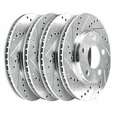 Fit 2003-2005 Infiniti,Nissan,G35,350Z HartBrakes Full Kit  Brake Rotors