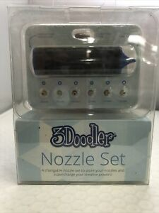 3Doodler Nozzle Set 6 Pieces Compatible With 3Doodler 2.0 NIB