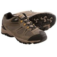 NWB! MEN'S HI-TEC TRAIL ll LOW HIKING SHOES. SUEDE/ MESH. WALKING/HIKING. SHARP