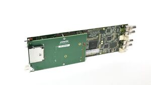 Evertz 7751TG2-CF-HD HD-SDI Test Signal Generator Embedded Audio - No Backlane