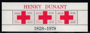 NETHERLANDS ANTILLES Henri Dunant, Founder of Red Cross MNH souvenir sheet