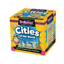 BrainBox Cities of The World Children's Memory Card Game 8 Years