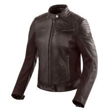 Blousons marrons Rev'it en cuir pour motocyclette