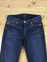 Women's 7 FOR ALL MANKIND cotton blend Size 27 Blue Jeans