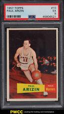 1957 Topps Basketball Paul Arizin ROOKIE RC #10 PSA 5 EX (PWCC)