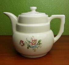 Hall China Rounded Terrace Rambling Rose Drip-o-lator Coffee Pot Vintage Teapot