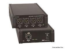RDL AV-NL4 Network to Audio Interface