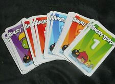 ANGRY BIRDS ON THIN ICE MATTEL REPLACEMENT PARTS PIECES COMPLETE DECK OF CARDS