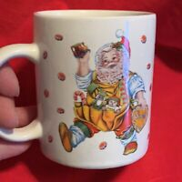 Santa's Magical Cookies Magical Santa Mug Cup Cheryl Ann Johnson Sakura